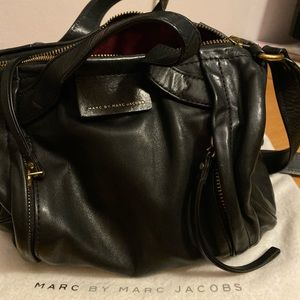Marc By Marc Jacobs Black Moto Bag